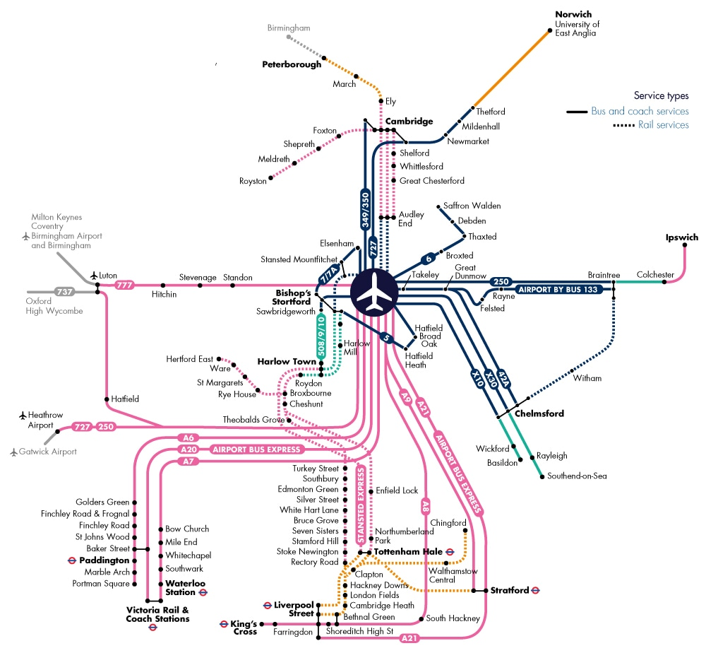 Travelcard Map October 2019