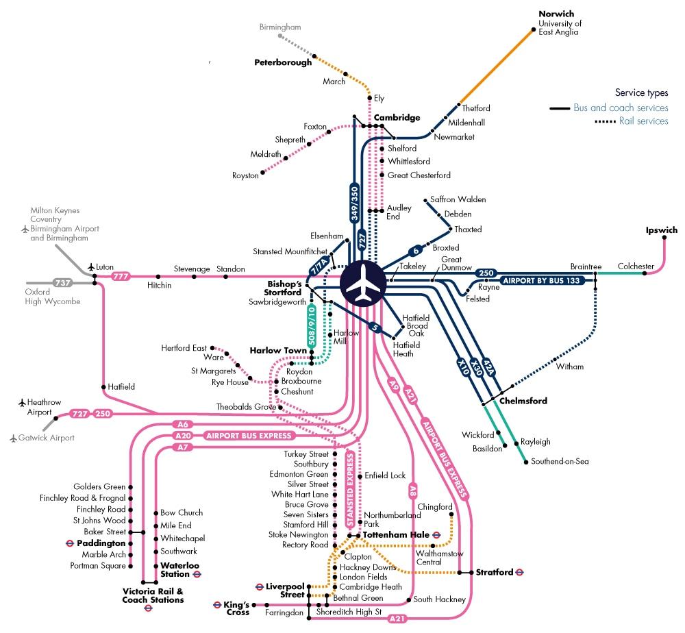 Travelcard Map October 2019